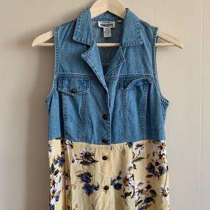 Vintage California Concepts Maxi Dress